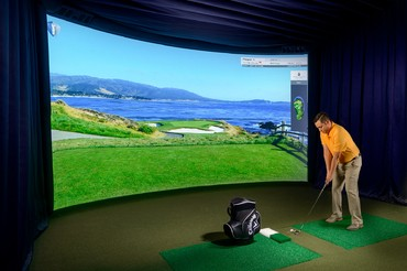 df8fbdb1e738 The Callaway Golf Simulator Experience features a curved widescreen HD Golf  Simulator that allows guests to play some of the best golf courses in the  world ...