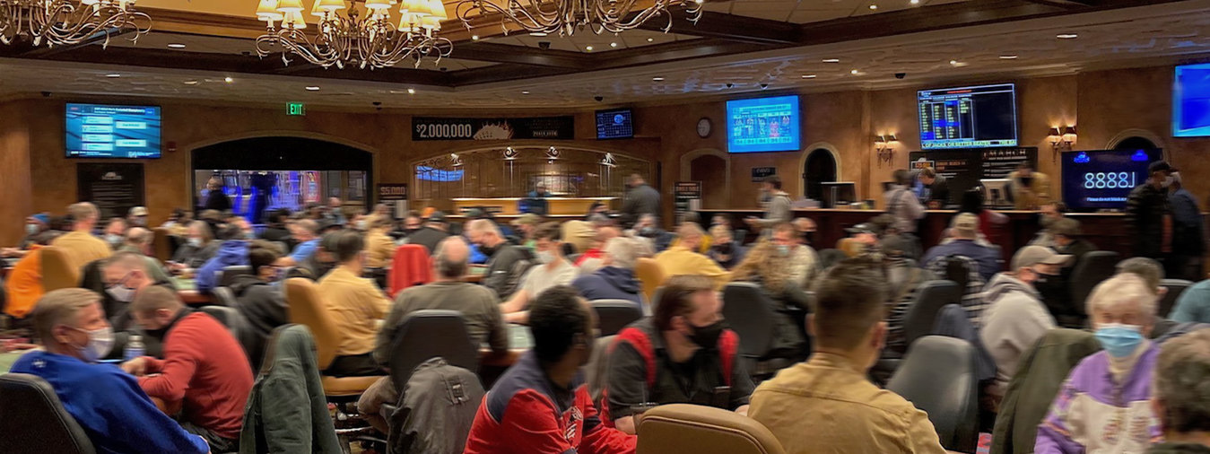 The Poker Room at Turning Stone