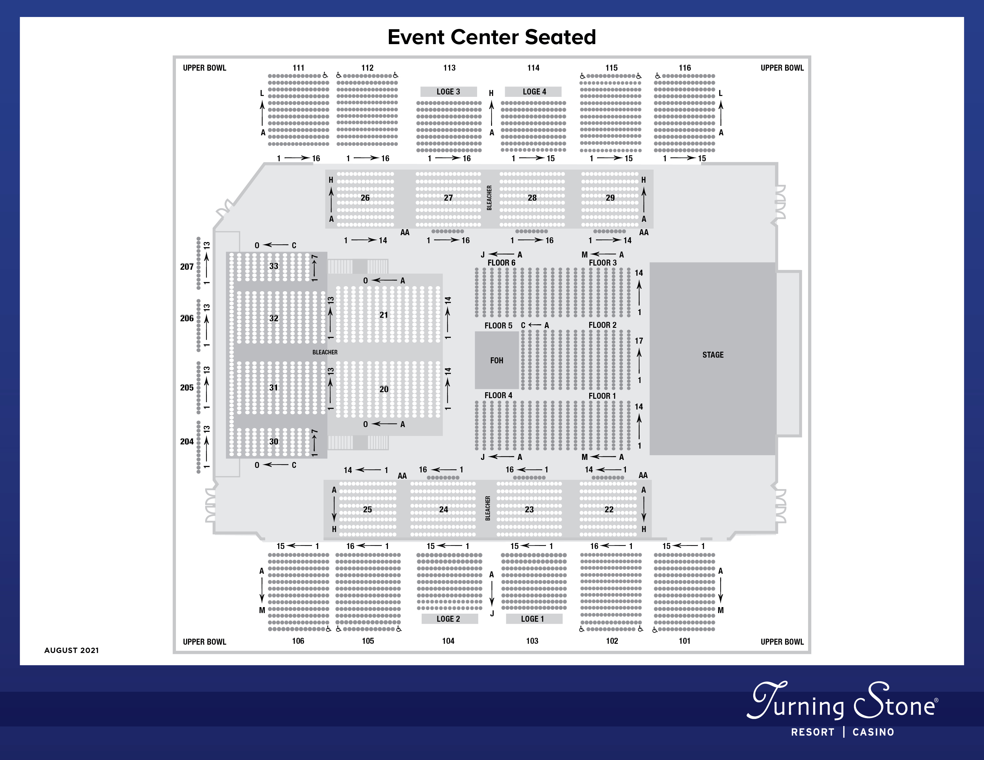 Event Center Seated