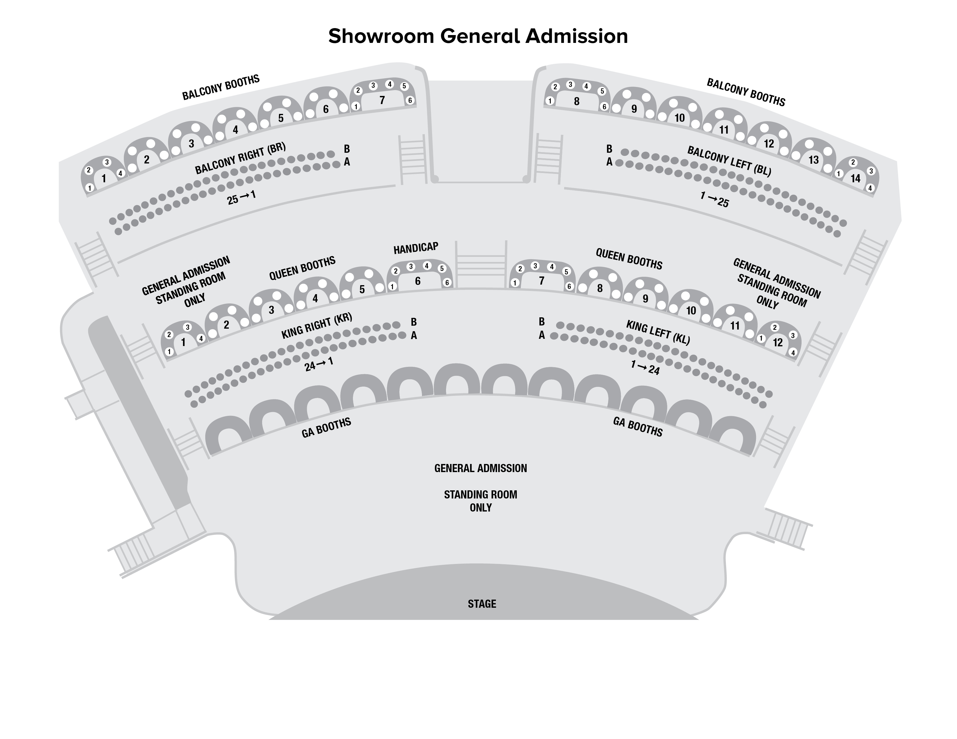 Showroom Genreal Admission