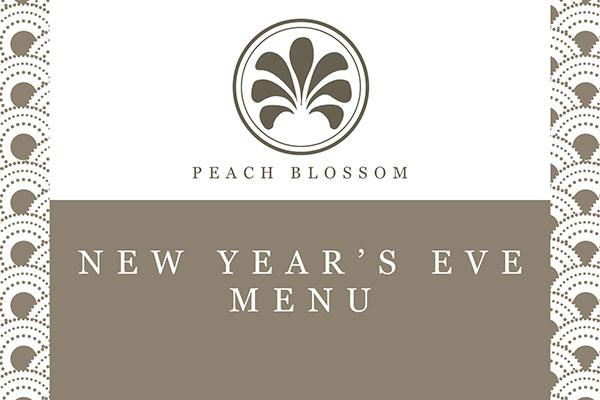 <h4>Peach Blossom New Year's Eve Specials
