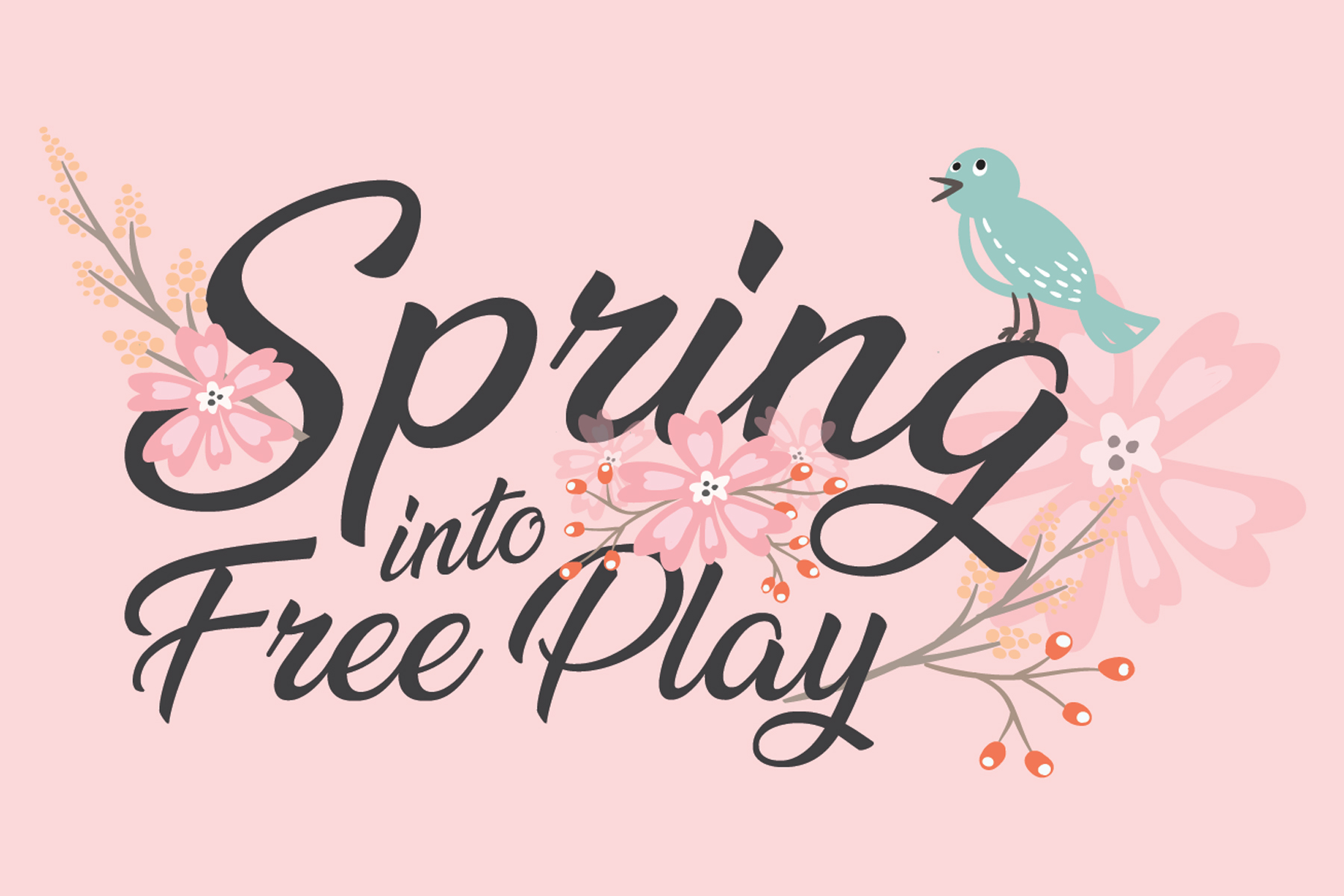Spring Into Free Play